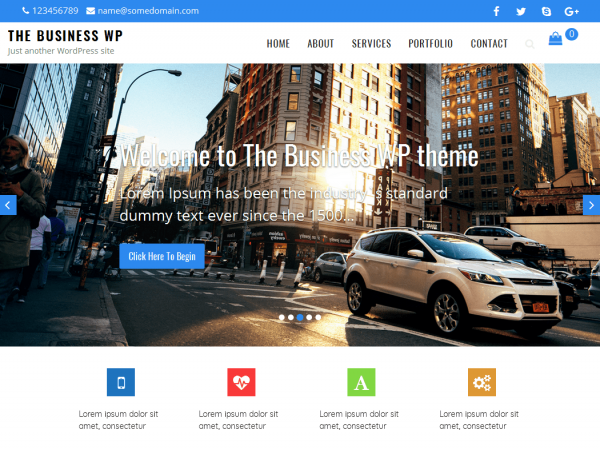 wp business theme