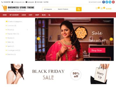 wordpress business store theme